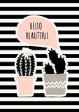 Cute Cacti Poster Design - 137773155