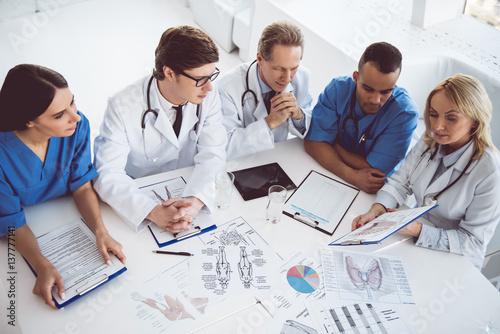 Fotografía  Medical doctors at the conference