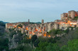 Sorano beautiful and cozy medieval town in the Grosseto of province