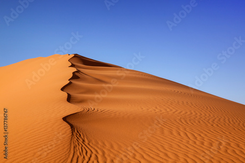 Photo Stands Desert Sand Dunes Morocco desert