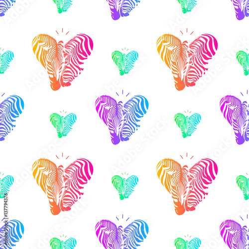 colorful-couple-zebra-head-in-heart-shape-seamless-pattern-savannah-animal-ornament-wild-animal-texture-vector-illustration-isolated-on-white-background