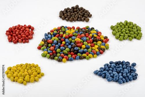 Keuken foto achterwand Snoepjes Menge Sortierung Mischung