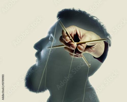 Photo Concept manipulation of consciousness