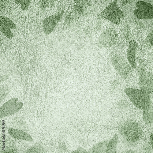 Art Abstract Decorative Light Green Background Wall mural