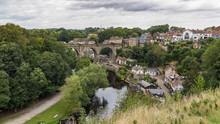 Knaresborough Viaduct And Vill...