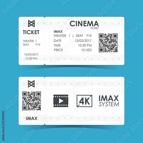 Photo  Cinema ticket