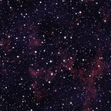 Seamless  Pattern   Of Starry ...