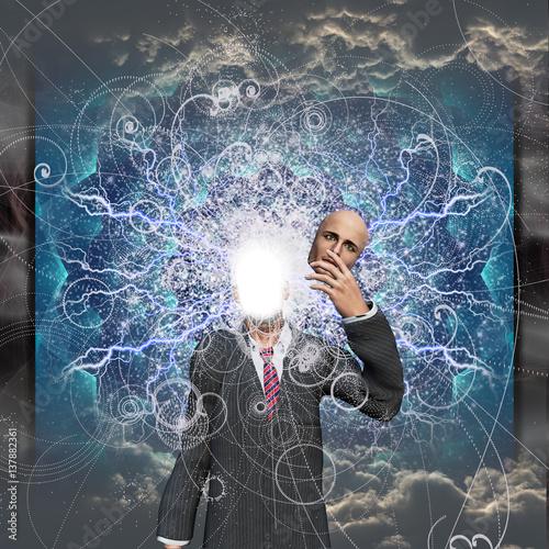 Fotografia Powereful being reveals true self