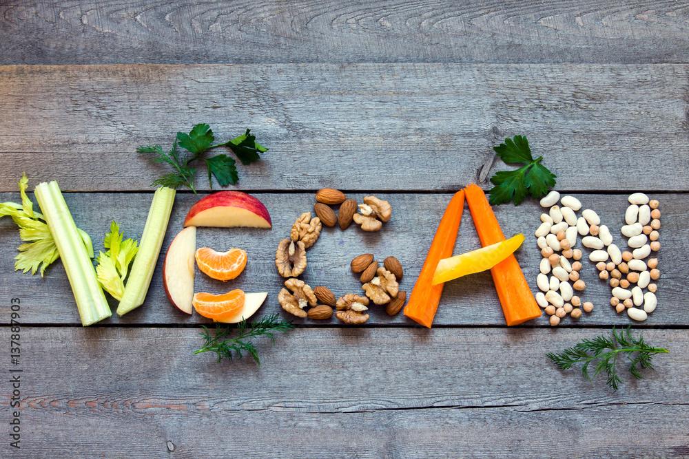 Fototapety, obrazy: Vegan