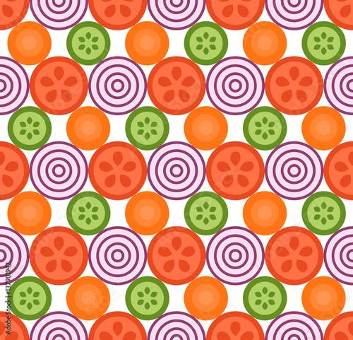 warzywa-geometryczny-wzor-plaski-ilustracji-wektorowych