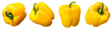 Sweet Yellow Pepper Isolated O...