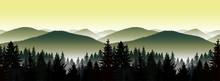 Seamless Landscape. Panorama O...