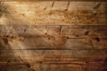 Wood Texture Background With Beams Of Light.