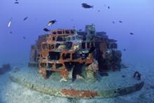 Submerged Artificial Reef Lyin...