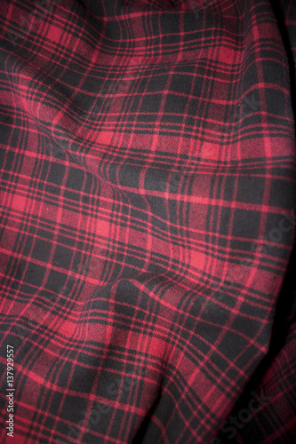 f5a57577ac0 Red plaid flannel fabric cloth - Buy this stock photo and explore ...