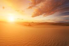 Beautiful Views Of The Gobi Desert. Mongolia