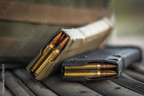 Fotografía assault rifle bullet