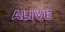 ALIVE - Fluorescent Neon Tube ...