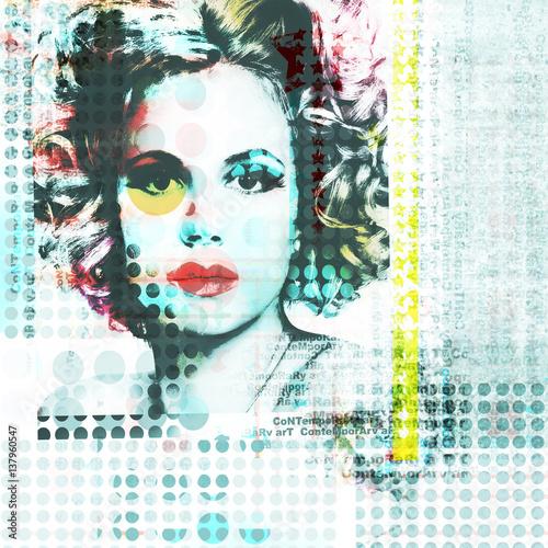 dziewczyna-w-stylu-pop-art