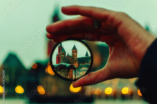 Fototapeta Point of view