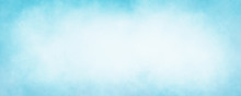 Pastel Sky Blue Background Wit...