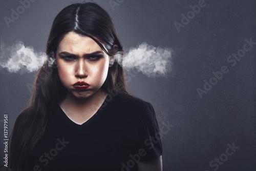 Fotografía  Angry Woman