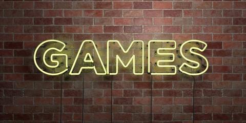 GAMES - fluorescent Neon tu...
