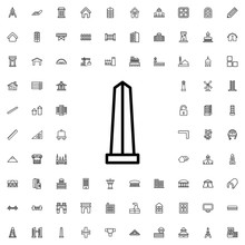 Monument Icon Illustration