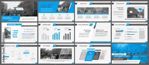 Photo  Elements for infographics and presentation templates.