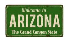 Welcome To Arizona Vintage Rus...