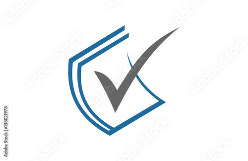 document paper checkmark icon - Buy this stock vector and