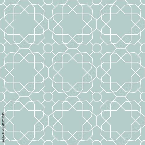 Zdjęcie XXL Jednolite światło niebieskie i białe tło dla swoich projektów. Nowoczesny ornament wektor. Geometryczny abstrakcyjny wzór