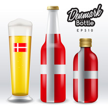 World Flag Wrapping On Beer Bo...