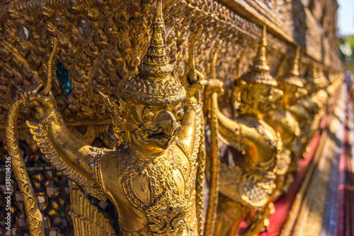 Photo  Garuda decoration on Grand Palace, Bangkok, Thailand