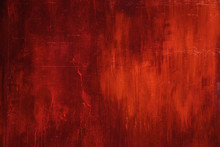 Red Metal Rust Wall Texture Su...