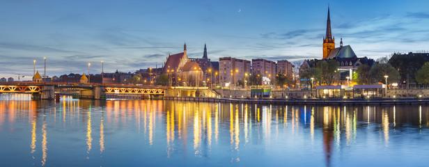 Fototapeta Miasta landmarks in the old city of Szczecin