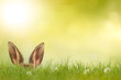 Leinwanddruck Bild - Frohe Ostern