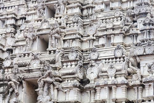 Fotografie, Obraz  Sthala Sayana Perumal Temple, Mahabalipuram, Tamil Nadu, India