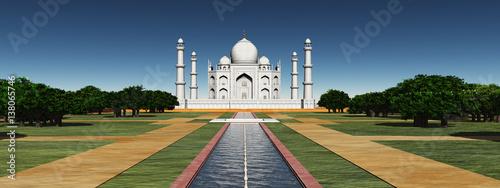 Fotografie, Obraz  Taj Mahal in Indien