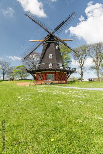 Photo  windmill in Kastellet fortress, Copenhagen