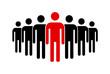 ludzie ikona