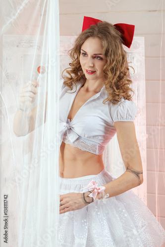 Uterus stretching nude photos