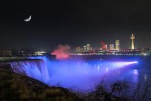 Niagara Falls At Night Under T...