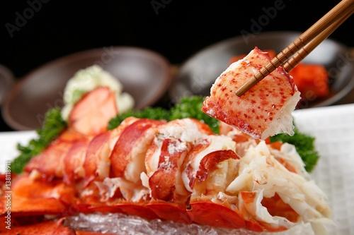 Fotografie, Tablou Grilled Lobster with Butter