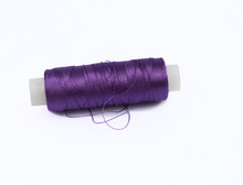 Purple Spool Of Thread
