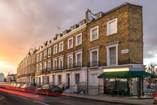 Block Of Flats In London
