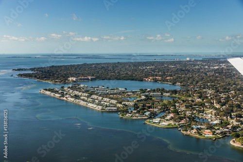 Photo  Aerial view of downtown St. Petersburg, Florida