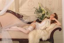 Girl Flirt In Erotic Lingerie....