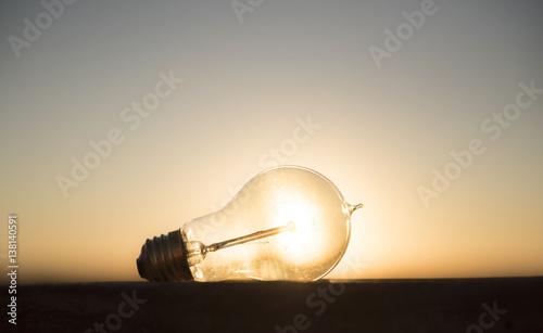 Photo  Solar Light Bulb