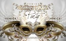Venice Carnival Poster